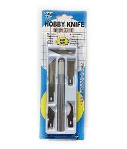 C-6022 筆刀 | 雕刻刀 (5款刀片組合)