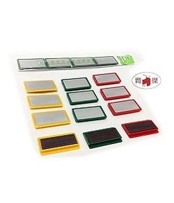 白板磁條 5cm | 方型磁塊 | 磁鐵 | 磁石 (4個入)