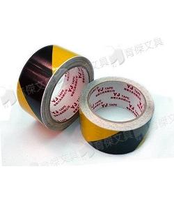 YJ警示斑馬膠帶 | 橫紋雙色膠帶 48mmx15Y