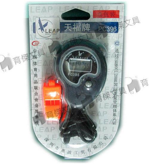 碼表PC396 | 碼錶 | 計時器 附口哨 1入
